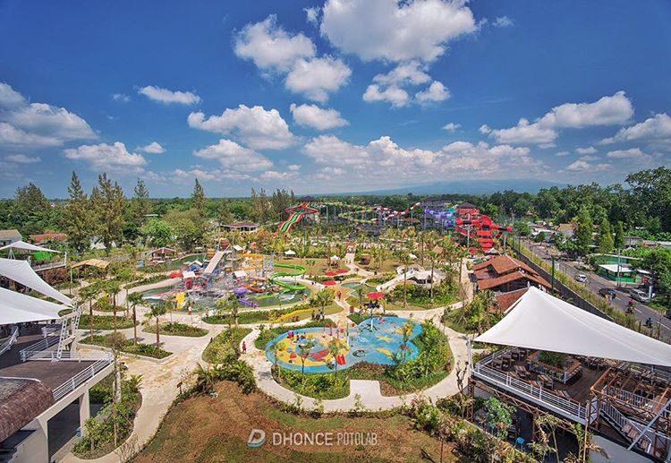 Jogja Bay Adventures Pirates Waterpark Terbesar Di Indonesia
