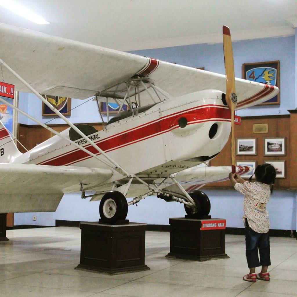 Museum Pusat TNI AU Dirgantara Mandala di Lanud Adisucipto