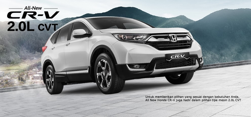 Honda CRV Turbo 2017