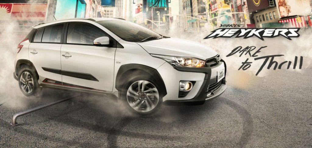 Toyota Yaris Heykers